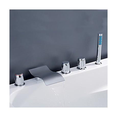 robinet de baignoire m langeur cascade robinets boutique. Black Bedroom Furniture Sets. Home Design Ideas