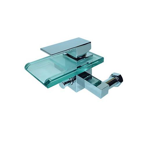 robinet de baignoire mitigeur fixation murale cascade. Black Bedroom Furniture Sets. Home Design Ideas