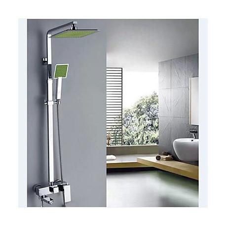 robinet de douche contemporain cascade thermostatique douche pluie douchette inclue. Black Bedroom Furniture Sets. Home Design Ideas