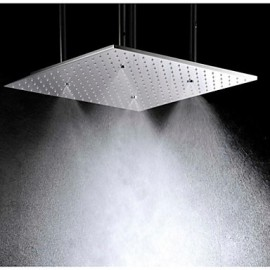 20 Inch Ceiling Mounted Stainless Steel 304 Atomizing And Rainfall Bathroom Shower Head