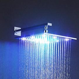 Douche pluie Contemporain LED / Effet pluie Laiton Chromé