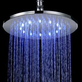 Douche pluie Contemporain LED/Effet pluie Laiton Chromé