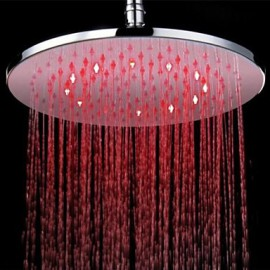 Douche pluie Contemporain LED Laiton Chromé