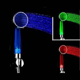 American Standard Douchette Contemporain LED/Effet pluie/Ecologique ABS Classe A Chromé