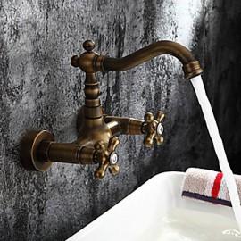 Jet de côté - Robinet de baignoire - Antique - en Laiton