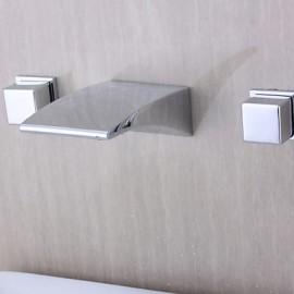 Modern Design Chrome généralisée cascade salle de bain robinet