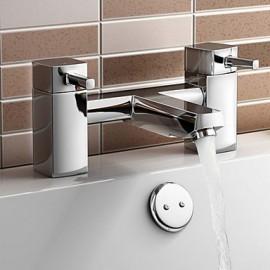 Position sur plancher - Robinet de baignoire - Contemporain - en Laiton