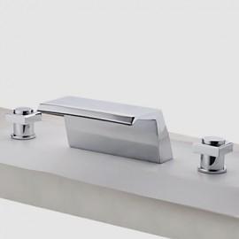 Robinet de baignoire mélangeur à cascade