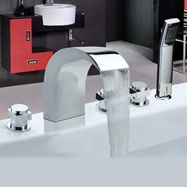 chrome generalisees en acier inoxydable robinets de baignoire de style contemporain avec robinet portable Résultat Supérieur 18 Incroyable Baignoire Avec Robinet Galerie 2018 Hiw6