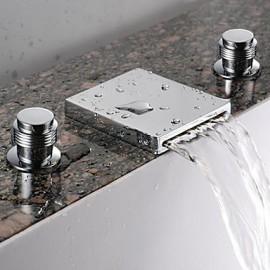 robinet d'évier cascade salle de bains (très répandue) - fini chrome