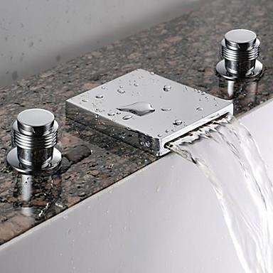 robinet d 39 vier cascade salle de bains tr s r pandue fini chrome robinets boutique. Black Bedroom Furniture Sets. Home Design Ideas