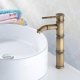 Vasque Mitigeur un trou in Laiton Antique Robinet lavabo
