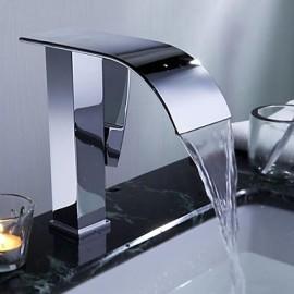 mitigeur répandue un trou dans le chrome lavabo robinet