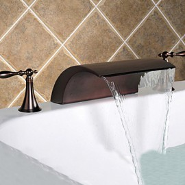 bronze huilé robinet évier cascade salle de bains très répandue