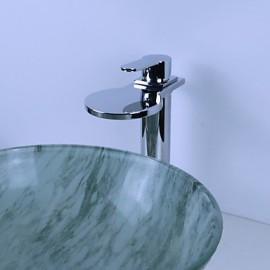 Vasque Mitigeur un trou in Chromé Robinet lavabo