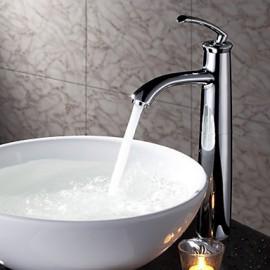 Robinet de salle de bain Centerset with Chrome 1 poignée 1 trou