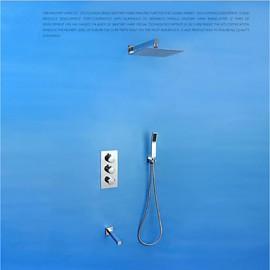 Robinet de douche/Robinet de baignoire - American Standard - Cascade/Thermostatique/Douche pluie - Contemporain