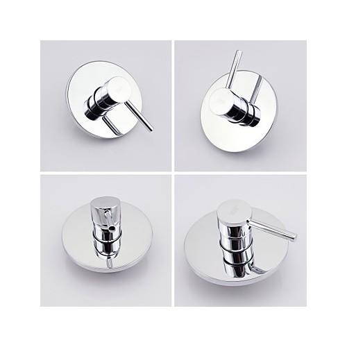paroi shengbaier montage pluie poign e simple robinet de douche robinets boutique. Black Bedroom Furniture Sets. Home Design Ideas