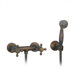 Robinet de douche - Antique - Douchette inclue - Laiton (Laiton Antique)