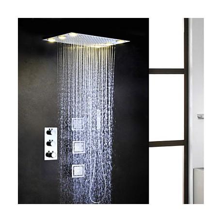 robinet de douche contemporain led thermostatique. Black Bedroom Furniture Sets. Home Design Ideas